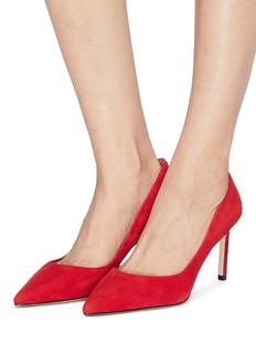 Pedder Red 'Rosie' suede pumps