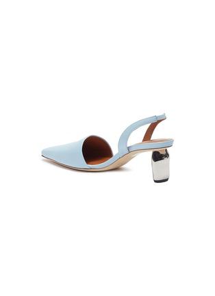 - REJINA PYO - 'Conie' sculptural heel leather slingback pumps