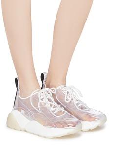Stella McCartney 'Eclypse' clear chunky outsole sneakers