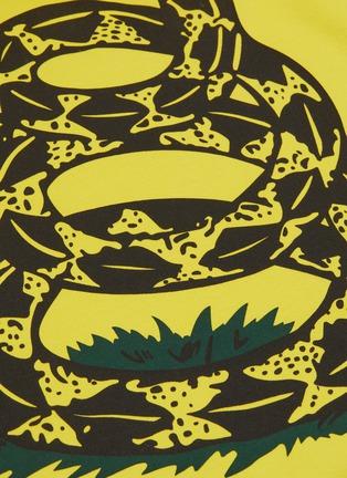 - VETEMENTS - 'Snake' slogan graphic print oversized unisex hoodie
