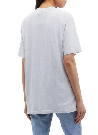 Back View - Click To Enlarge - Vetements - 'Georgia' slogan graphic print T-shirt