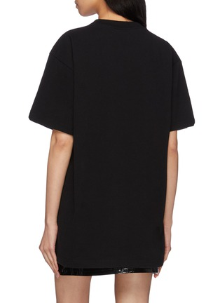 Back View - Click To Enlarge - VETEMENTS - 'Idol' graphic print oversized unisex T-shirt