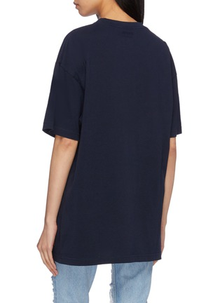 Back View - Click To Enlarge - VETEMENTS - 'Cartoon' slogan graphic print oversized unisex T-shirt