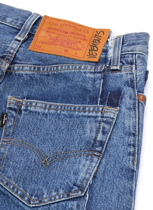 - VETEMENTS - x Levi Strauss & Co. panelled patchwork jeans
