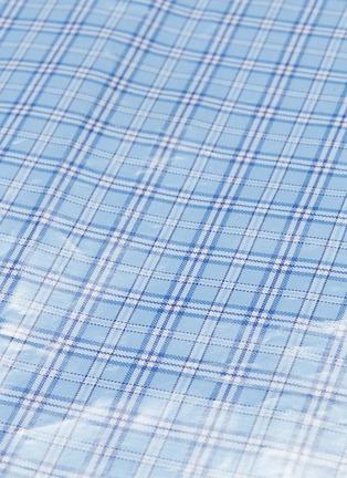- VETEMENTS - Check plaid coated maxi skirt