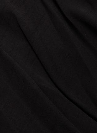 - Yohji Yamamoto - Patchwork drape wrap skirt