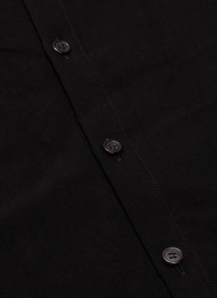 - Yohji Yamamoto - Button back oversized shirt