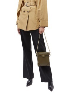 MANU Atelier 'Pristine' mini leather crossbody bag
