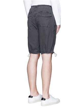 Back View - Click To Enlarge - James Perse - Stretch poplin mountaineering shorts