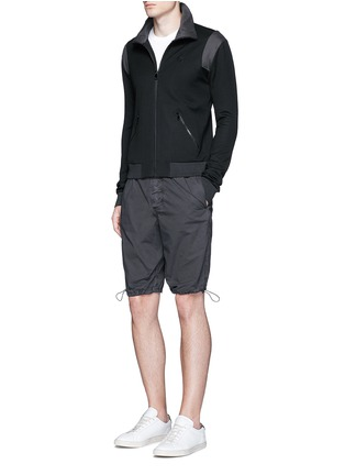 Figure View - Click To Enlarge - James Perse - Stretch poplin mountaineering shorts