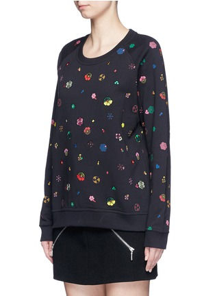 Front View - Click To Enlarge - KENZO - Tanami flower print French terry sweatshirt