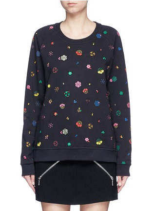 Main View - Click To Enlarge - KENZO - Tanami flower print French terry sweatshirt