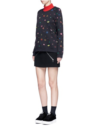 Figure View - Click To Enlarge - KENZO - Tanami flower print French terry sweatshirt
