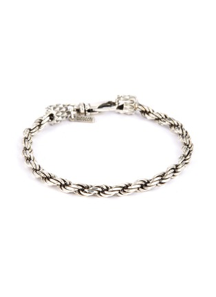 Main View - Click To Enlarge - EMANUELE BICOCCHI - French rope chain silver bracelet