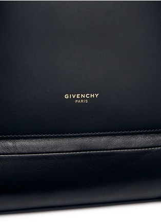 Detail View - Click To Enlarge - Givenchy - 'Rider' leather backpack