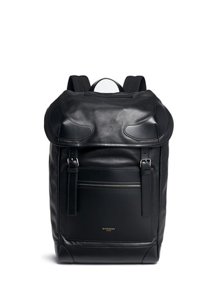 Main View - Click To Enlarge - Givenchy - 'Rider' leather backpack