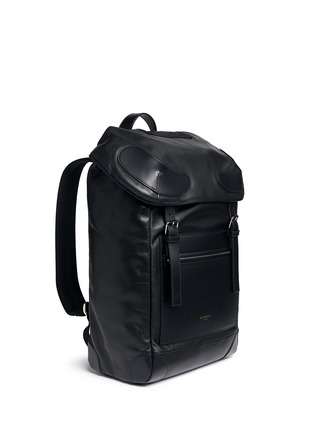 Figure View - Click To Enlarge - Givenchy - 'Rider' leather backpack