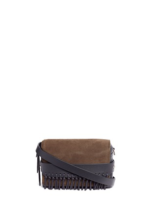 Main View - Click To Enlarge - 3.1 PHILLIP LIM - 'Bianca' small fringe leather crossbody bag
