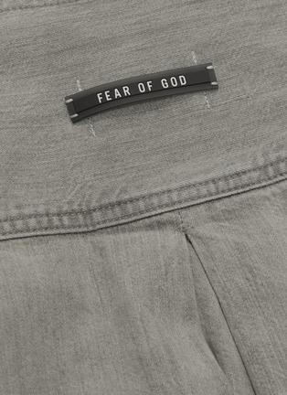 - FEAR OF GOD - Belted denim kimono jacket
