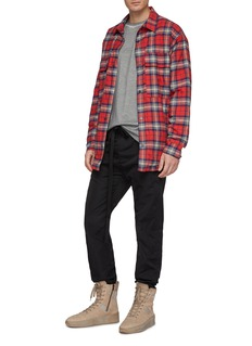 Fear of God Tartan plaid flannel shirt jacket