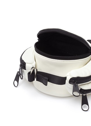 Detail View - Click To Enlarge - ALEXANDERWANG - 'Tourist' micro side pocket leather bum bag
