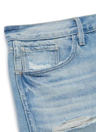 - 3X1 - 'Mason' distressed denim shorts