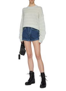 3x1 'Eden' roll cuff denim shorts