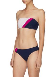 Flagpole Swim 'Maya' colourblock bandeau top