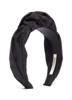 Jennifer Behr 'Ophelia' knot faille headband