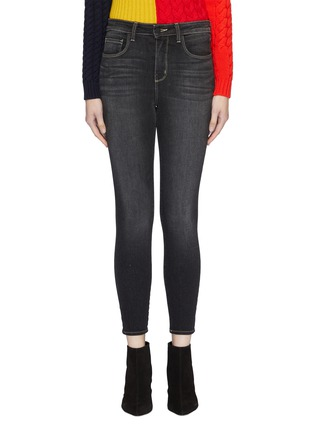 Main View - Click To Enlarge - L'AGENCE - 'Margot' skinny jeans