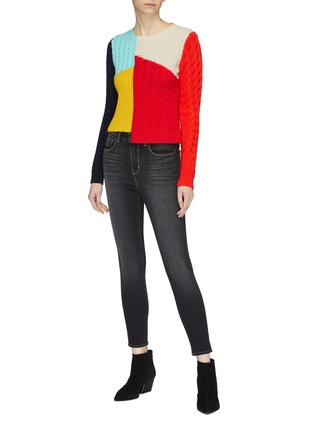 Figure View - Click To Enlarge - L'AGENCE - 'Margot' skinny jeans
