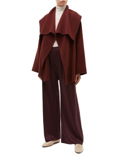 The Row 'Disa' belted cashmere-virgin wool jacket
