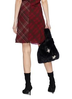 Simonetta Ravizza 'Furrissima' star embellished mink fur sac bag