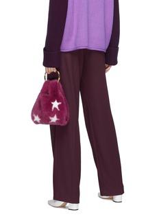 Simonetta Ravizza 'Furrissima' star print mini mink fur sac bag
