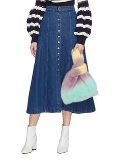 Simonetta Ravizza 'Furrissima Degrade' mink fur sac bag