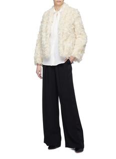 Vince Silk crepe blouse