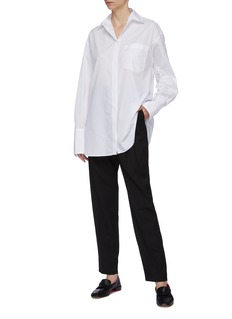 The Row 'Claire' patch pocket shirt