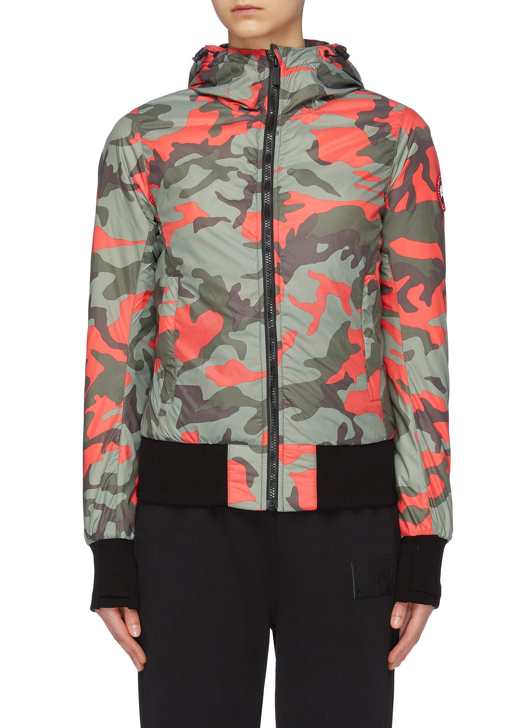 Buy Canada Goose Jackets 'Dore' camouflage print hooded down jacket