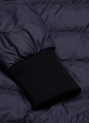 - CANADA GOOSE - 'Ellison' logo patch puffer nylon jacket