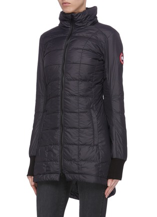 Front View - Click To Enlarge - CANADA GOOSE - 'Ellison' logo patch puffer nylon jacket
