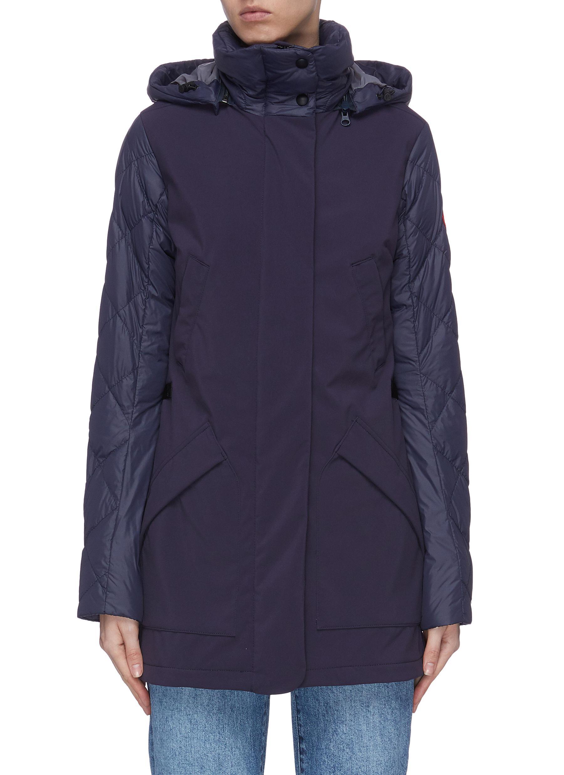 shop Canada Goose 'Berkley' puffed zip down coat online
