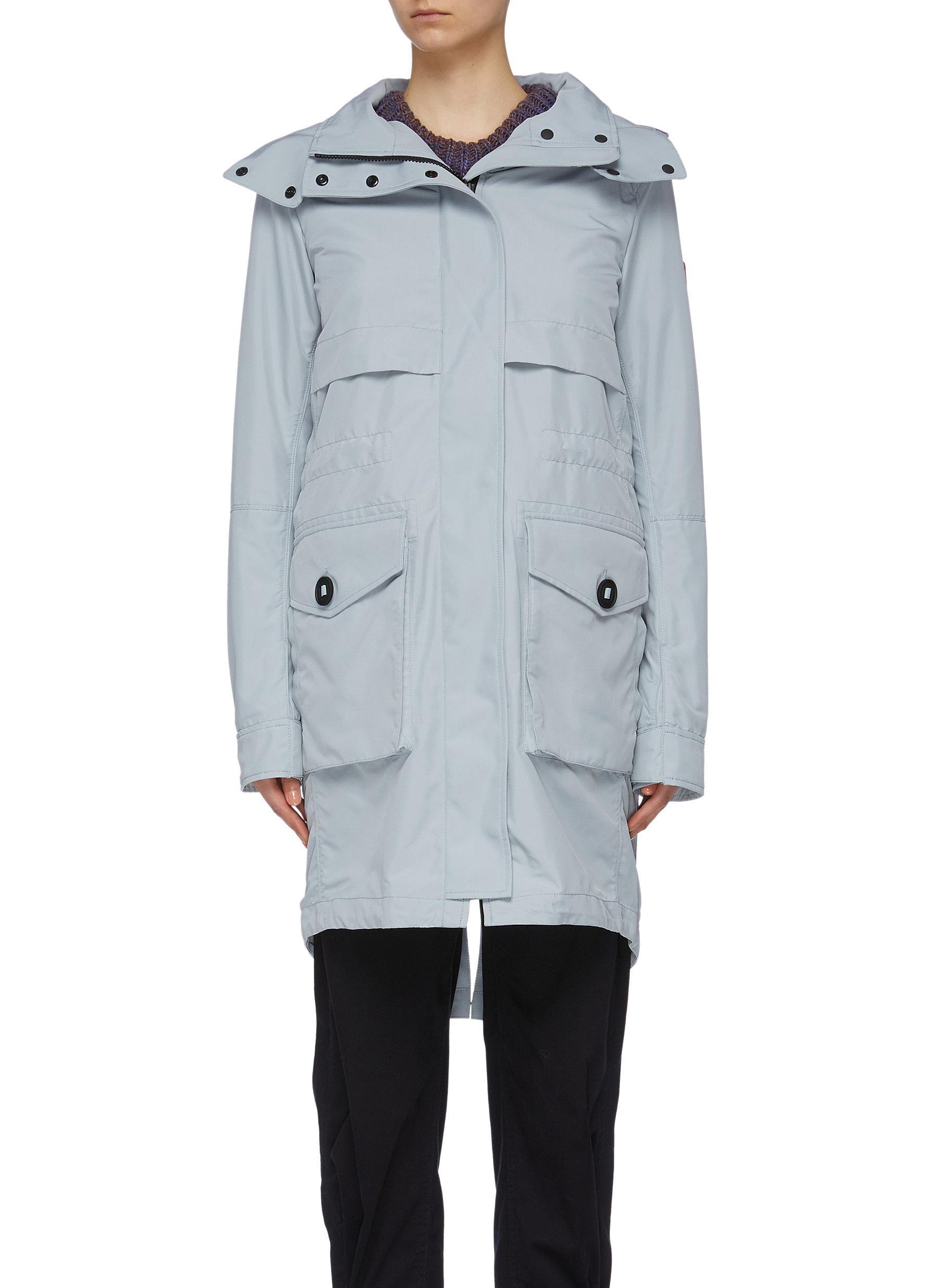 shop Canada Goose 'Cavalry' detachable hood windproof trench coat online