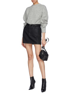 T By Alexander Wang Brushed pilling effect sweater
