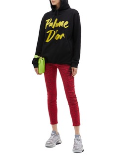 Double Rainbouu 'Palme D'or' slogan print hoodie