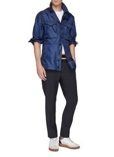 Maison Margiela Contrast waist belted twill pants