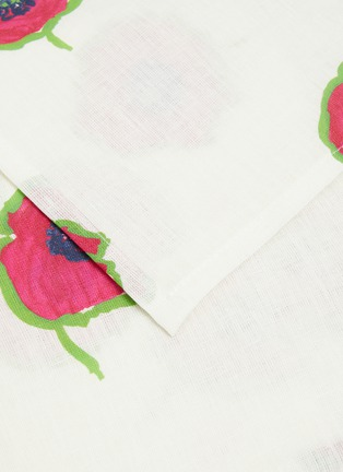 Detail View - Click To Enlarge - LA DOUBLEJ - x Mascioni Papaveri large napkin set