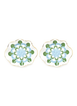 Main View - Click To Enlarge - La DoubleJ - x Ancap Mosaico Blu bonbon dish set