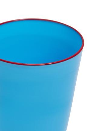 Detail View - Click To Enlarge - LA DOUBLEJ - Tumbler set –Turquoise