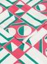 Detail View - Click To Enlarge - LA DOUBLEJ - x Mascioni Geometrico Rosa large napkin set