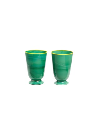 Main View - Click To Enlarge - La DoubleJ - Tumbler set – Green